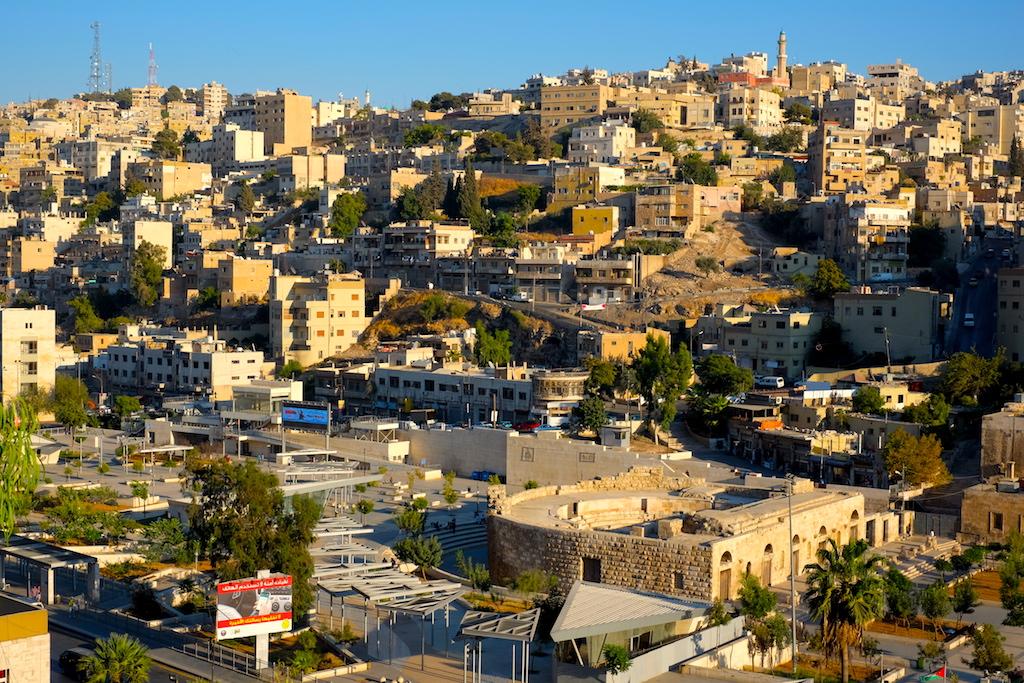 Liburan ke Jordan (Jerash dan Amman) - Downtown Amman