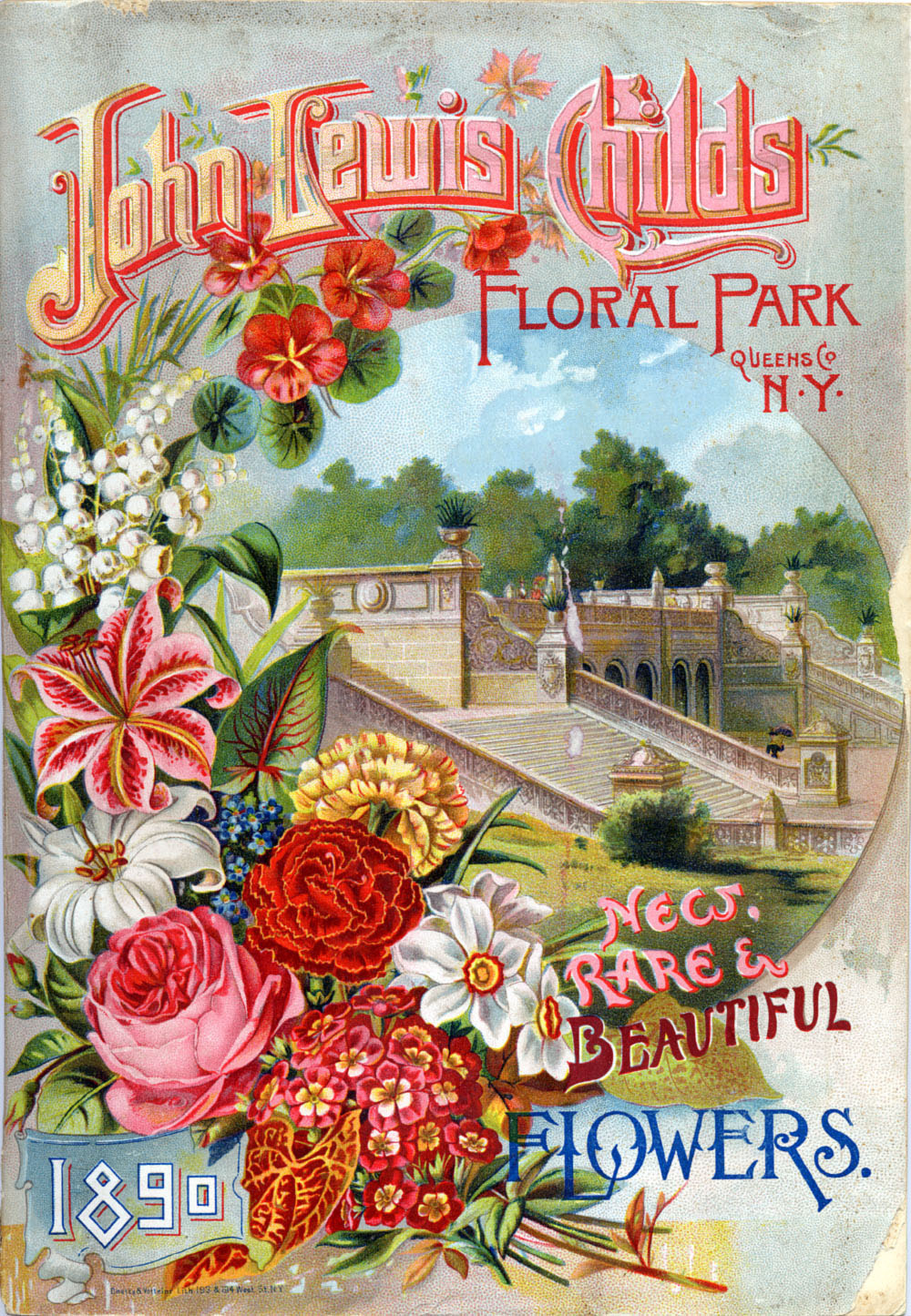 John Lewis Flowers Art artists vintage seed catalogues part 1 1890 new rare beautiful flowers john lewis childs floral park ny sisterspd