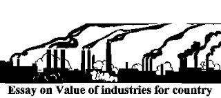 Essay on Value of industries for country