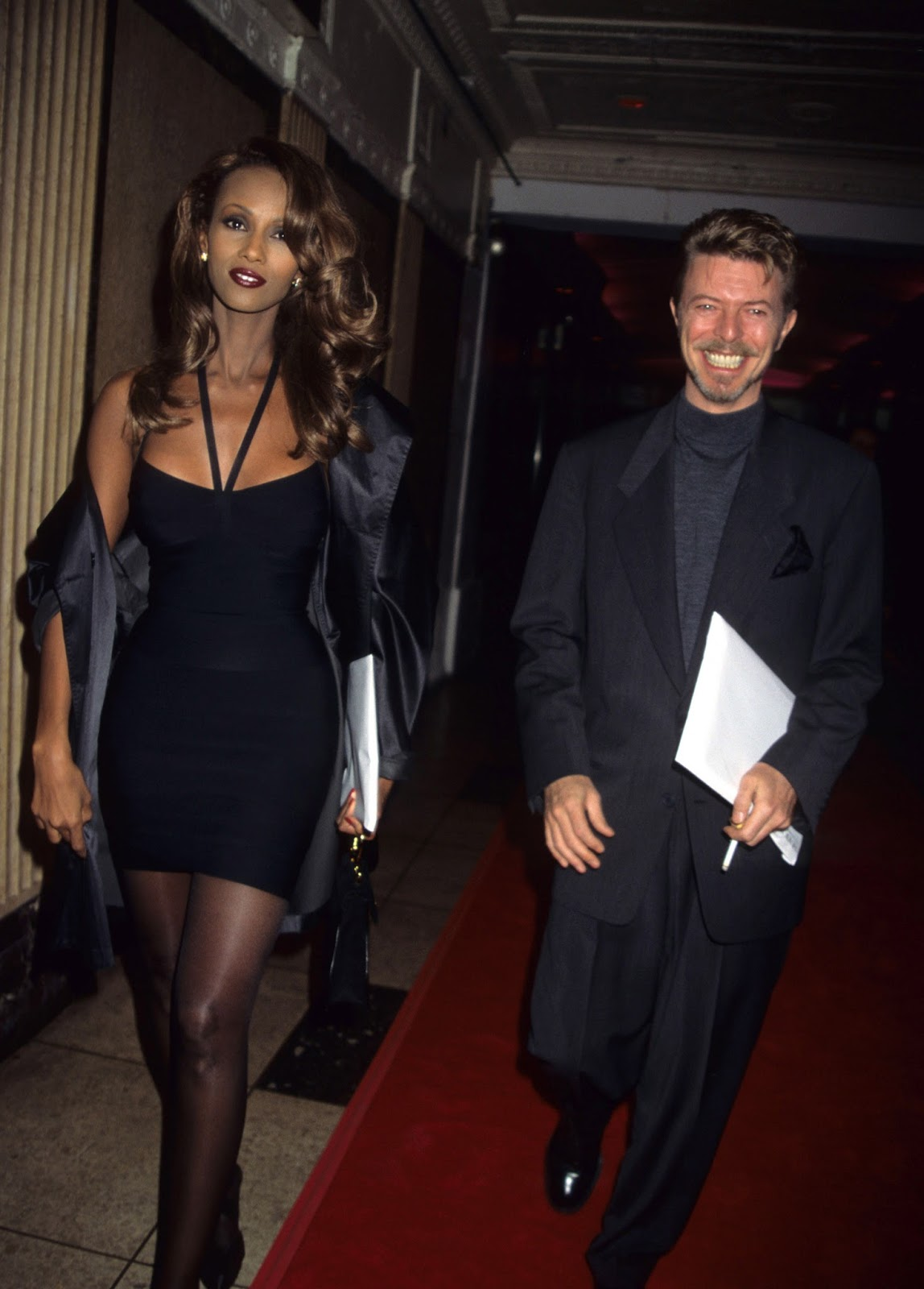 iman and david bowie relationship