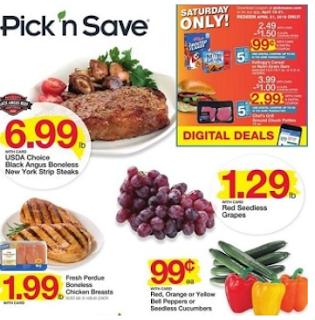 Pick N Save Weekly Ad July 18 - 24, 2018