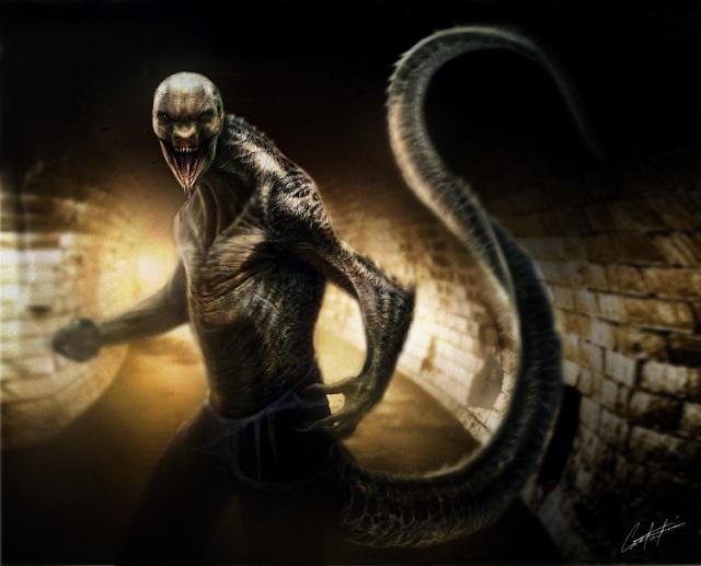 A Raça Alienígena Reptiliana