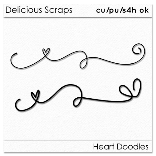 Delicious Scraps: • New & Re-Uploaded Hearts CU •