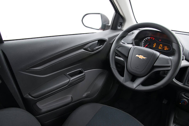 Chevrolet Onix 2017 Joy - interior