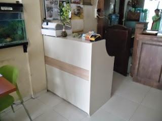 Front Desk - Meja Kasir - Meja CS Semarang