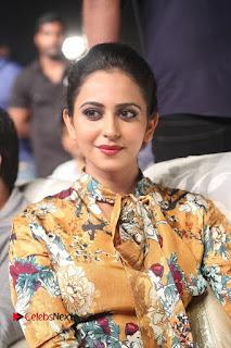 Actress Rakul Preet Singh Stills in Short Dress at Dhruva Pre Release Function  0022.JPG