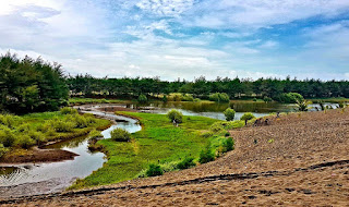 Laguna Pantai Lembupurwo Mirit Kebumen
