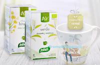 Logo Vinci gratis 5 pacchi regalo Santiveri con 2 infusioni Sanaflor + 2 tazzine