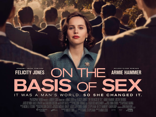 On The Basis Of Sex Starring Felicity Jones