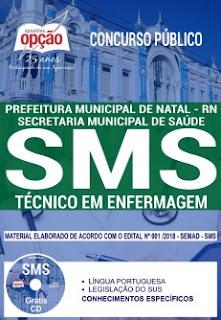 apostila-concurso-SMS-2018