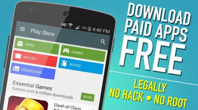 Download Aplikasi Berbayar di Playstore Secara Gratis
