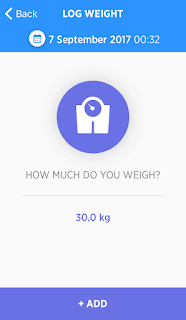 Log weight