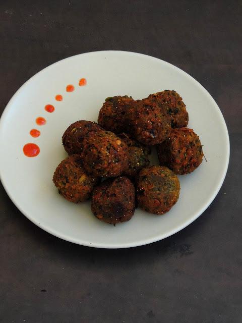 Mushroom spicy balls, Mushroom urundai.jpg
