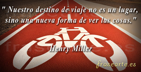 Frases para el viajero, Henry Miller