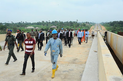 Photo-News; Governor Aregbesola Inspects Ongoing Projects In Osun State.