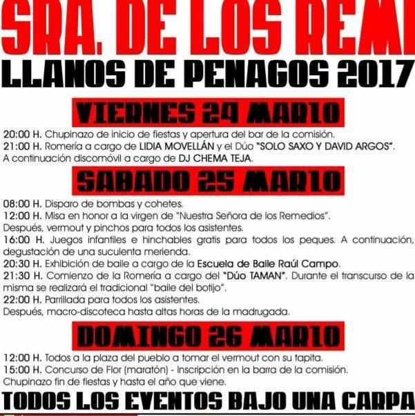 Fiestas de Nuestra Señora de los Remedios en Llanos de Penagos 2017