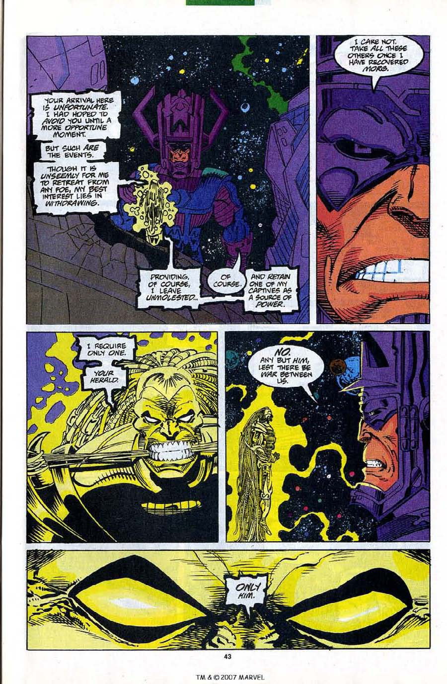 Read online Silver Surfer (1987) comic -  Issue #82 - 45