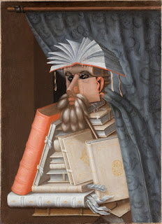 Arcimboldo's 1566 painting, The Librarian
