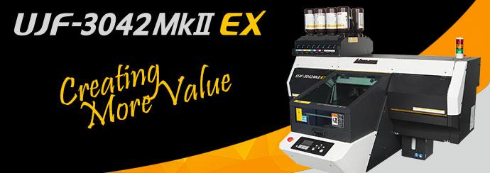 Mimaki USA Announces UJF-3042 Mark II EX Model UV-LED Flatbed