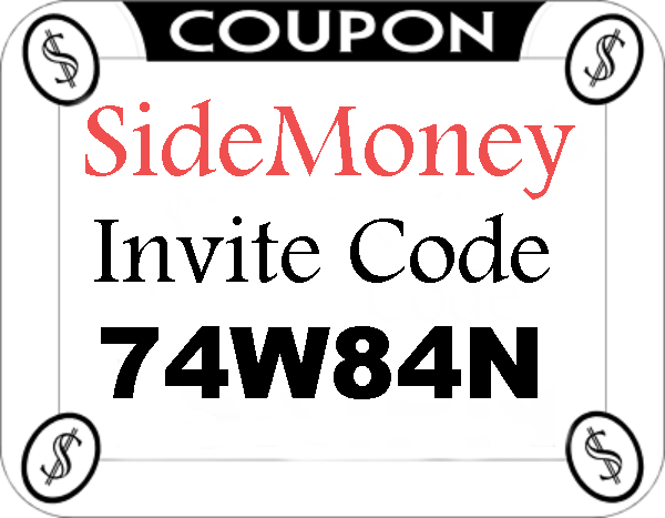 SideMoney App Invitation Codes 2021-2122, SideMoney App Mobile Download Android and Iphone