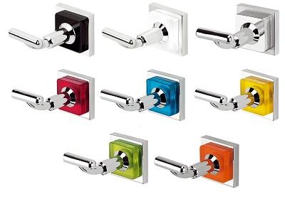el blog del ba o accesorios de ba o con cuadrados de colores
