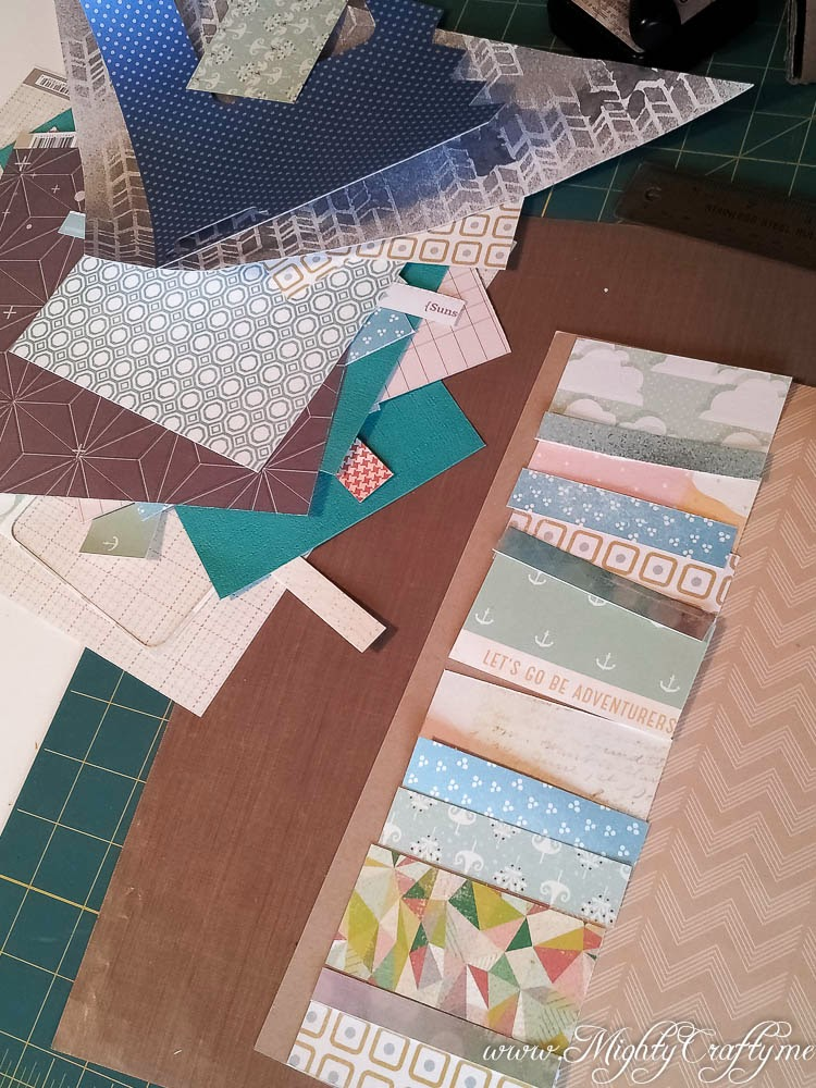 Layout from scraps -- www.MightyCrafty.me