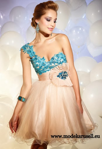 4b72db7c2e2435 Diana Träger Abendkleid 2014 Cocktailkleid Kurz