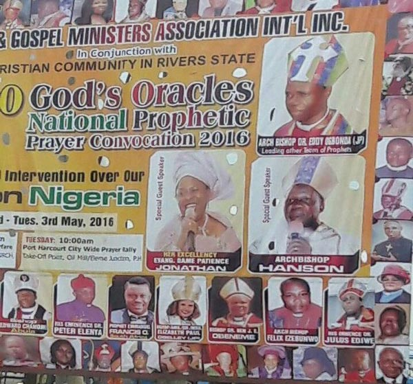 Photo: Former First Lady Patience Jonathan Has Become A Preacher?