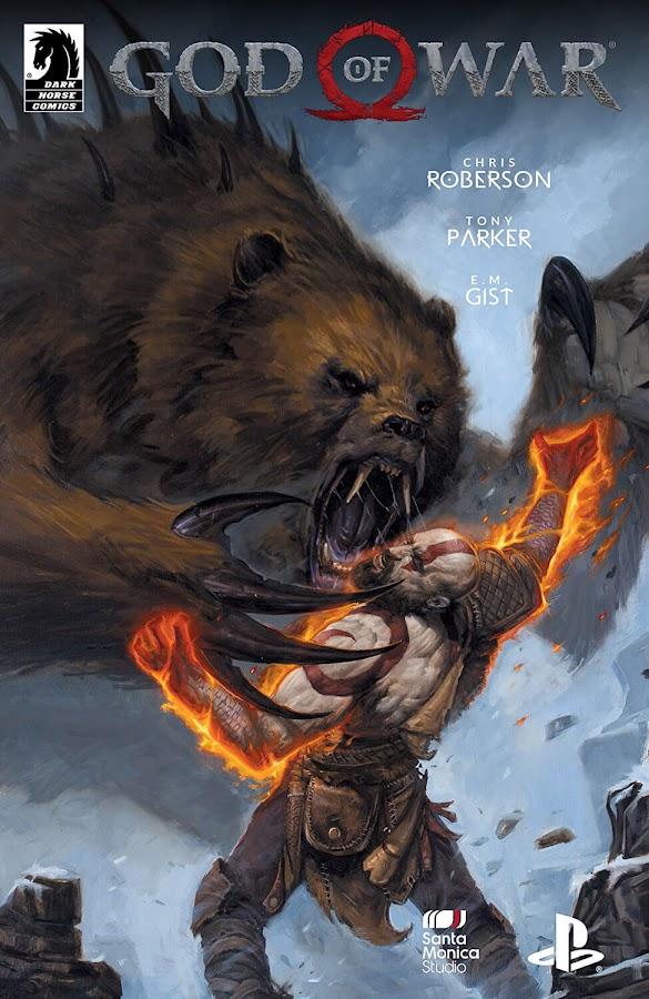 god of war prequel dark horse comics