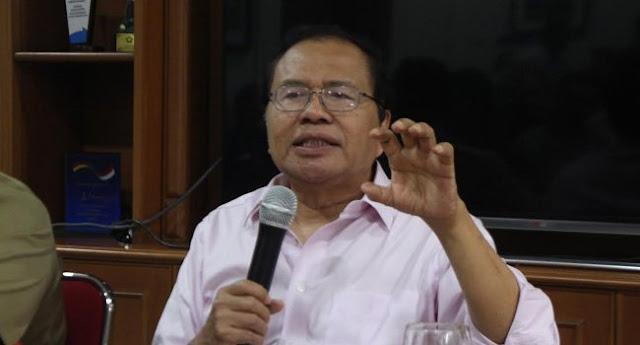Rizal Ramli: Pejabat Kita Tidak Mau Jujur Saat Ada Masalah Ekonomi