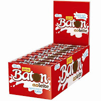Lojas Americanas Chocolate Baton Ao Leite C/30 Garoto