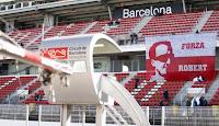 Forza Robert flaga Robert Kubica F1 Barcelona