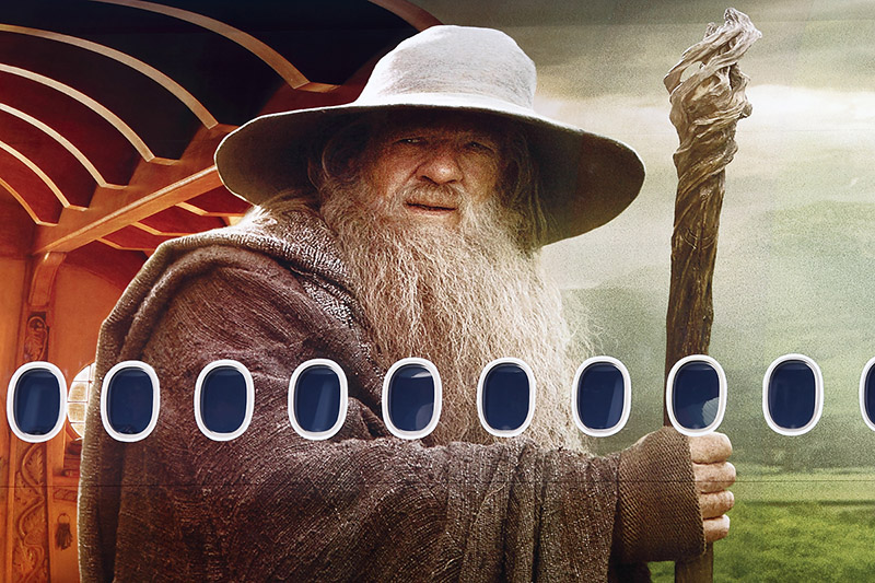 The Airline of Middle Earth