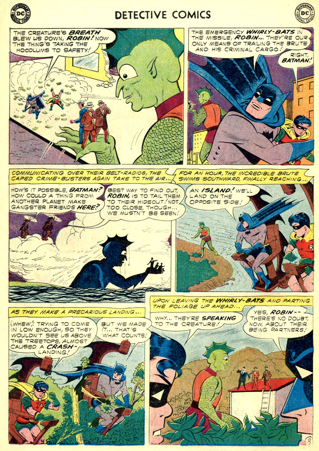 Read online Detective Comics (1937) comic -  Issue #270 - 10