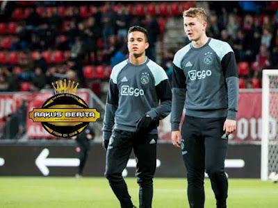 Justin Kluivert Dengan De Ligt Di Ajax