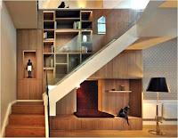 Ideas para ahorrar espacio debajo de la escalera decoracion elegante