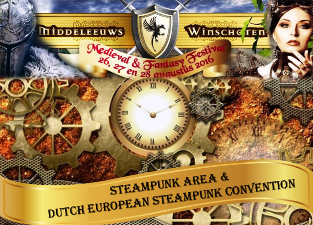 Dutch European Steampunk Convention 2016 - DESC 2016 in Winschoten Netherlands