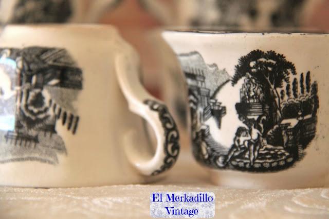Tazas café La Cartuja de Sevilla