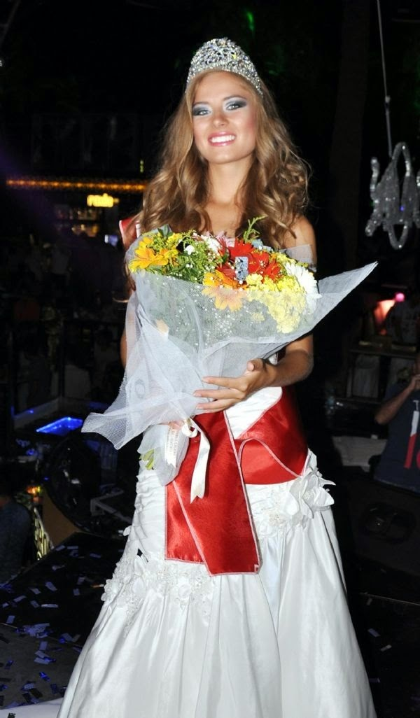 O Universo dos concursos: Miss Ukraine Universe 2014 Diana