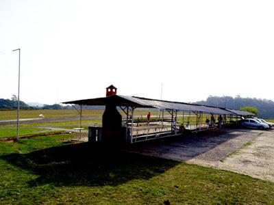 Pista de aeromodelismo do Aerosampa