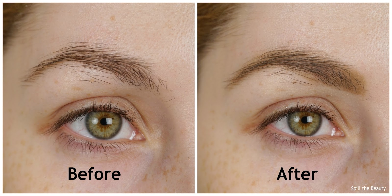 MAKE UP FOR EVER Pro Sculpting Brow Palette Harmony 1 review swatches 3 before and after