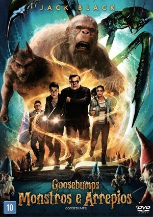 Goosebumps - Monstros e Arrepios BluRay Torrent torrent download capa