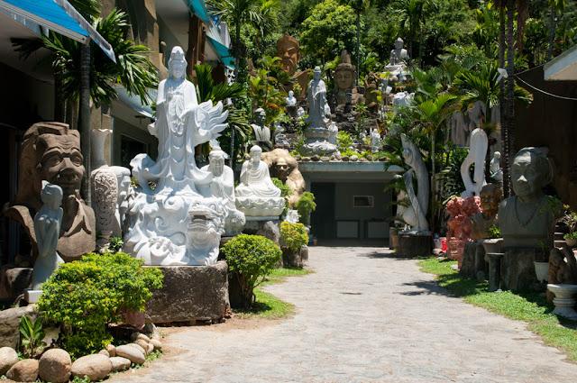 Figuras de mármol Da Nang