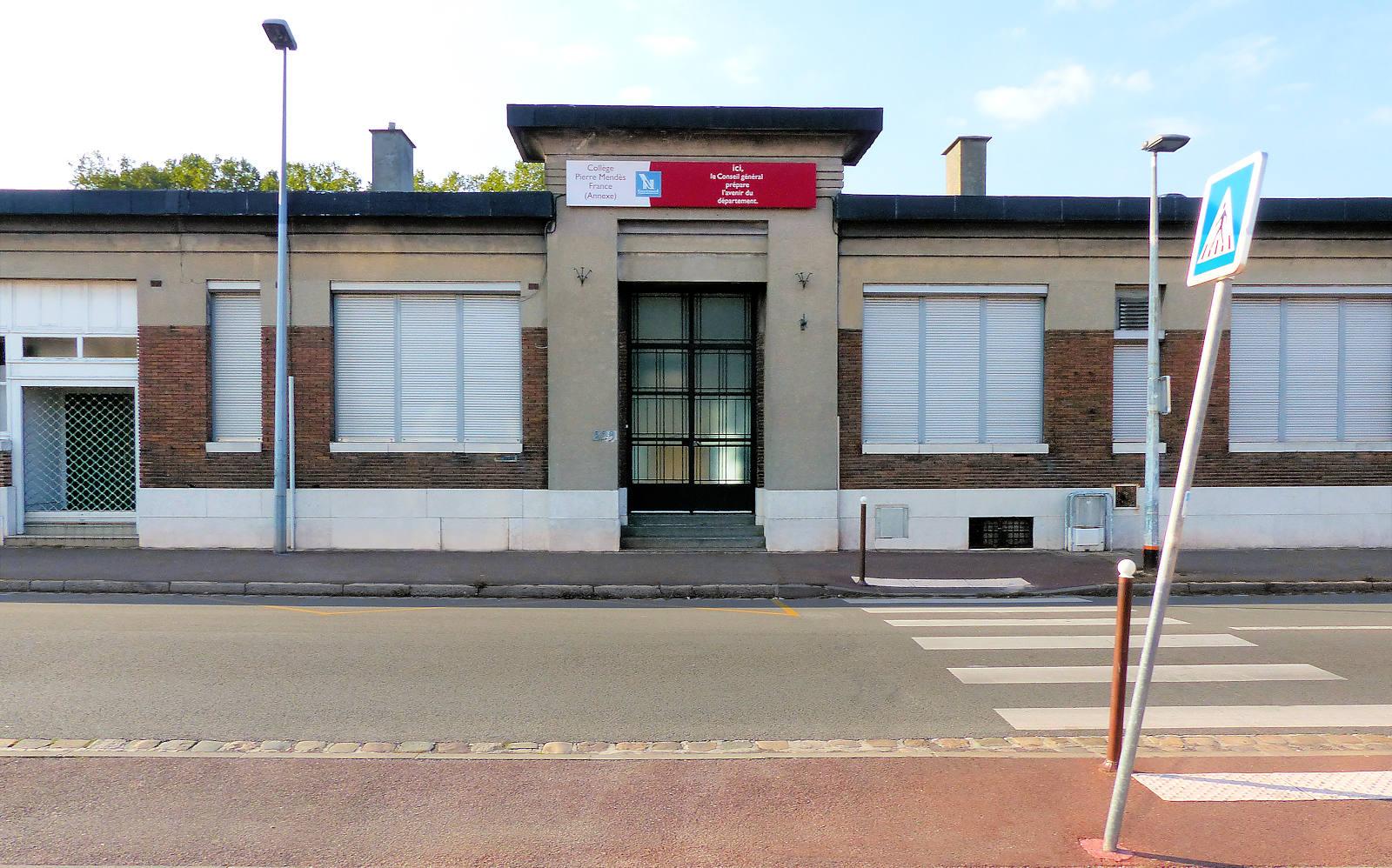 Collège Mendès France, Tourcoing - Bâtiments annexes.