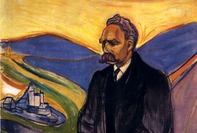 Friedrich Nietzsche, por Edvard Munch (1906)