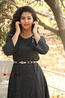 Telugu Actress Pavani Latest Pos in Black Short Dress at Smile Pictures Production No 1 Movie Opening  0015.JPG