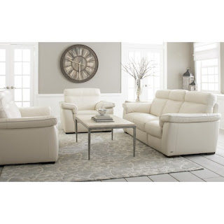 natuzzi white leather furniture