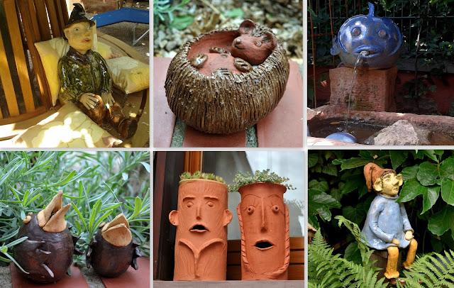 Keramikwerke aus Ton
