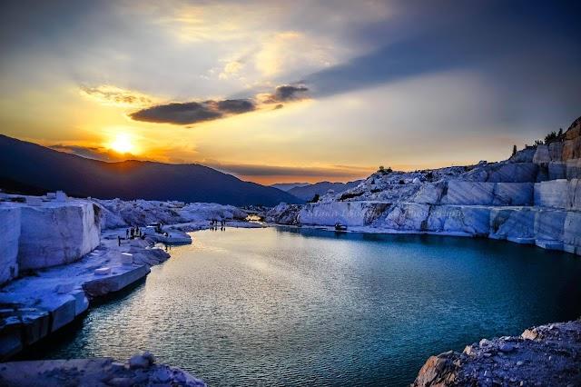 Bild des Tages - Marmor See in Prilep