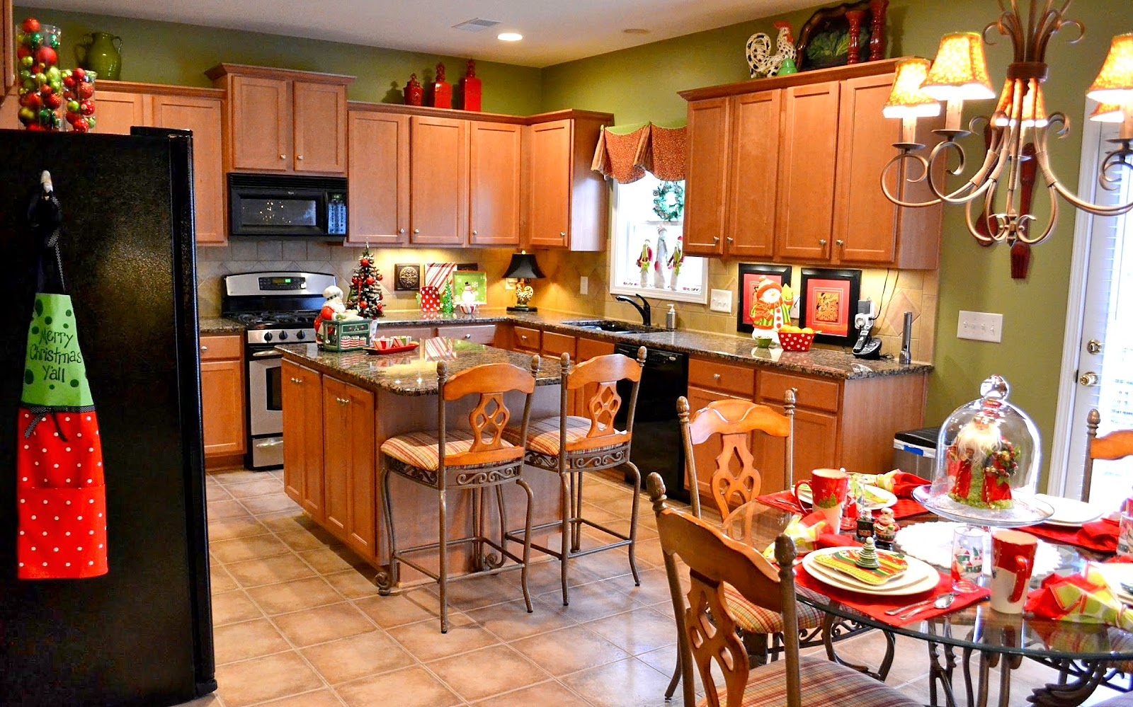 Whimsical Christmas In The Kitchen